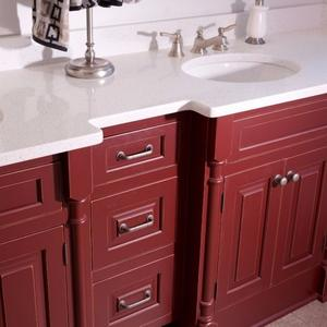 CC Custom (Full Inset)  Paint Grade, Ruby Red Allspice Distress Antique.jpg