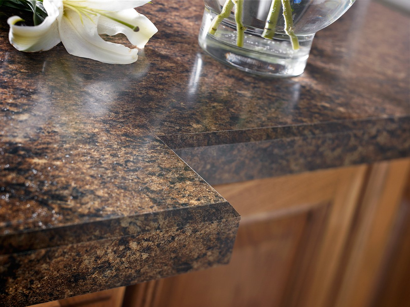Although Laminate Is Not Quite As Stunning Or Durable As Other Countertop  Materials, It Remains The Best Value For Most Kitchen Remodeling ...