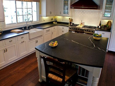 Soapstone Is A Relatively Soft, Non Porous Rock Consisting Predominantly Of  Talc. It Ranges In Color From Light Grey To Medium Grey And Usually Has ...